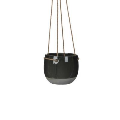 Resa Hanging Pot Dk.Grey