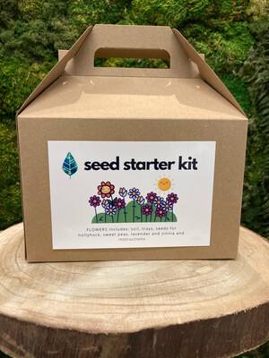 Seed starting kit - Flowers