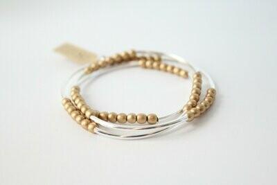 Silver & Gold RD Bracelet