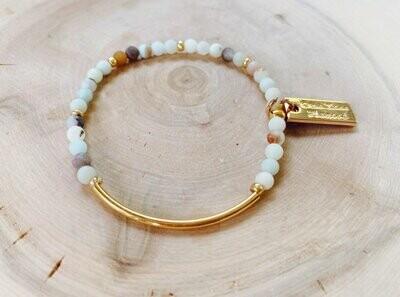 Amazonite - Layering Bracelet
