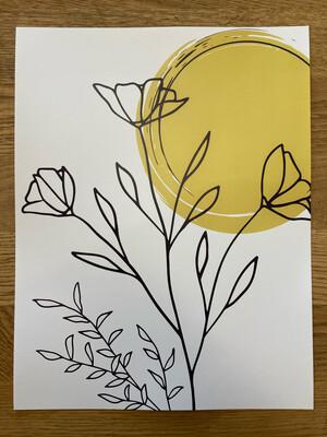 Sunny Buds Print