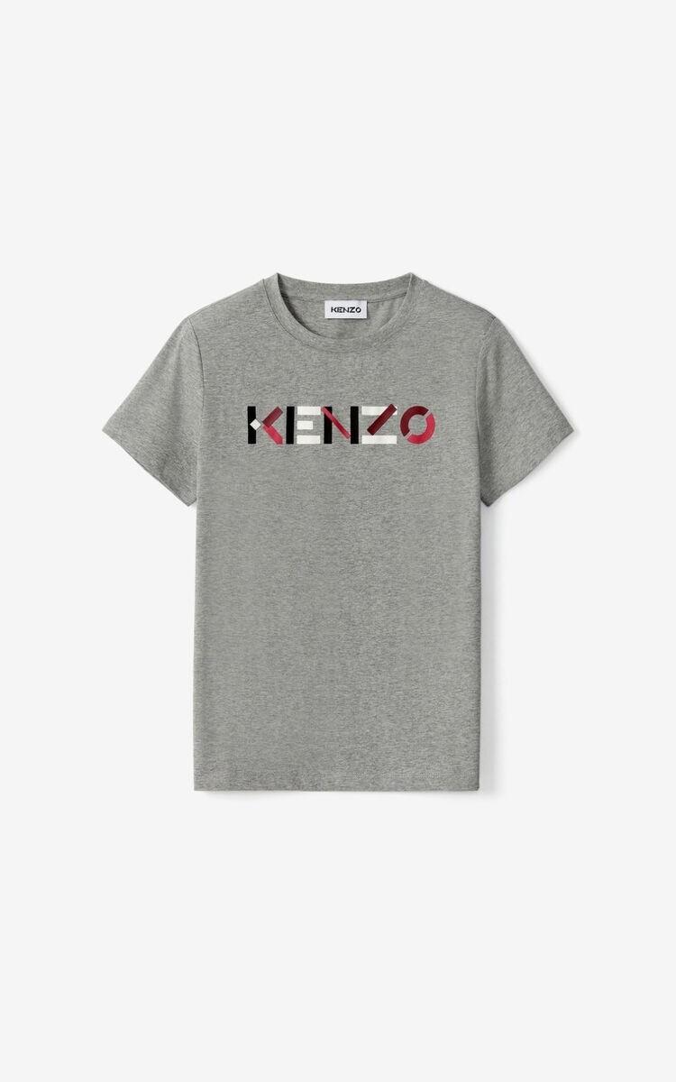 Kenzo | T-Shirt | FA62TS8404SJ l.grijs
