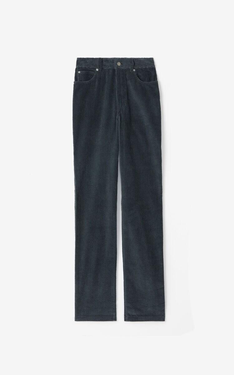 Kenzo   Pantalon   FA62PA0189CR d.grijs
