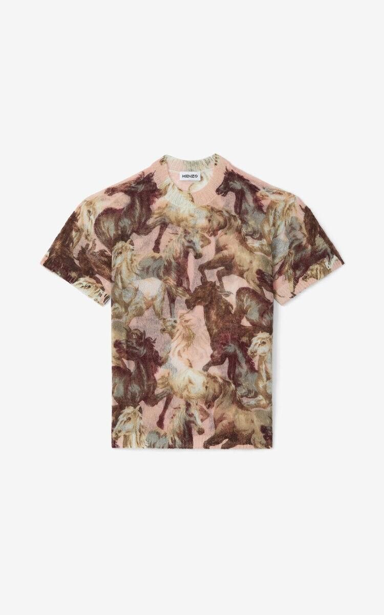 Kenzo | T-Shirt | FA62PU5143CC pink