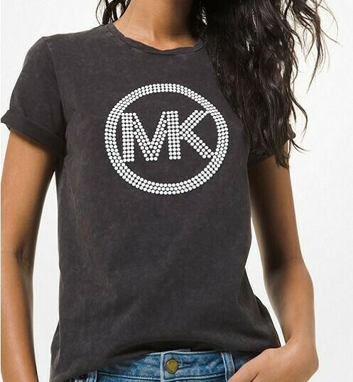Michael Kors | T-Shirt | MU05MLHEL zwart