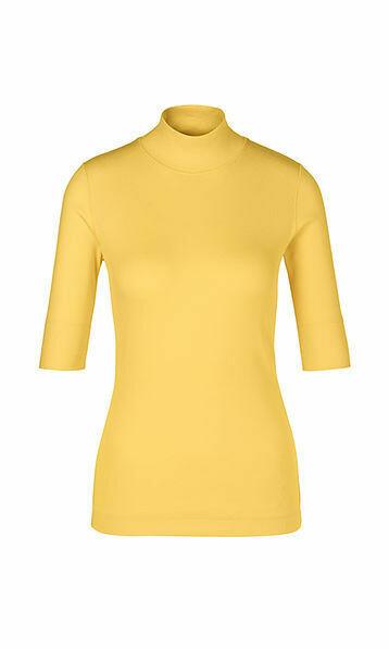 Marccain | T-shirt | PS 48.04 J50 geel