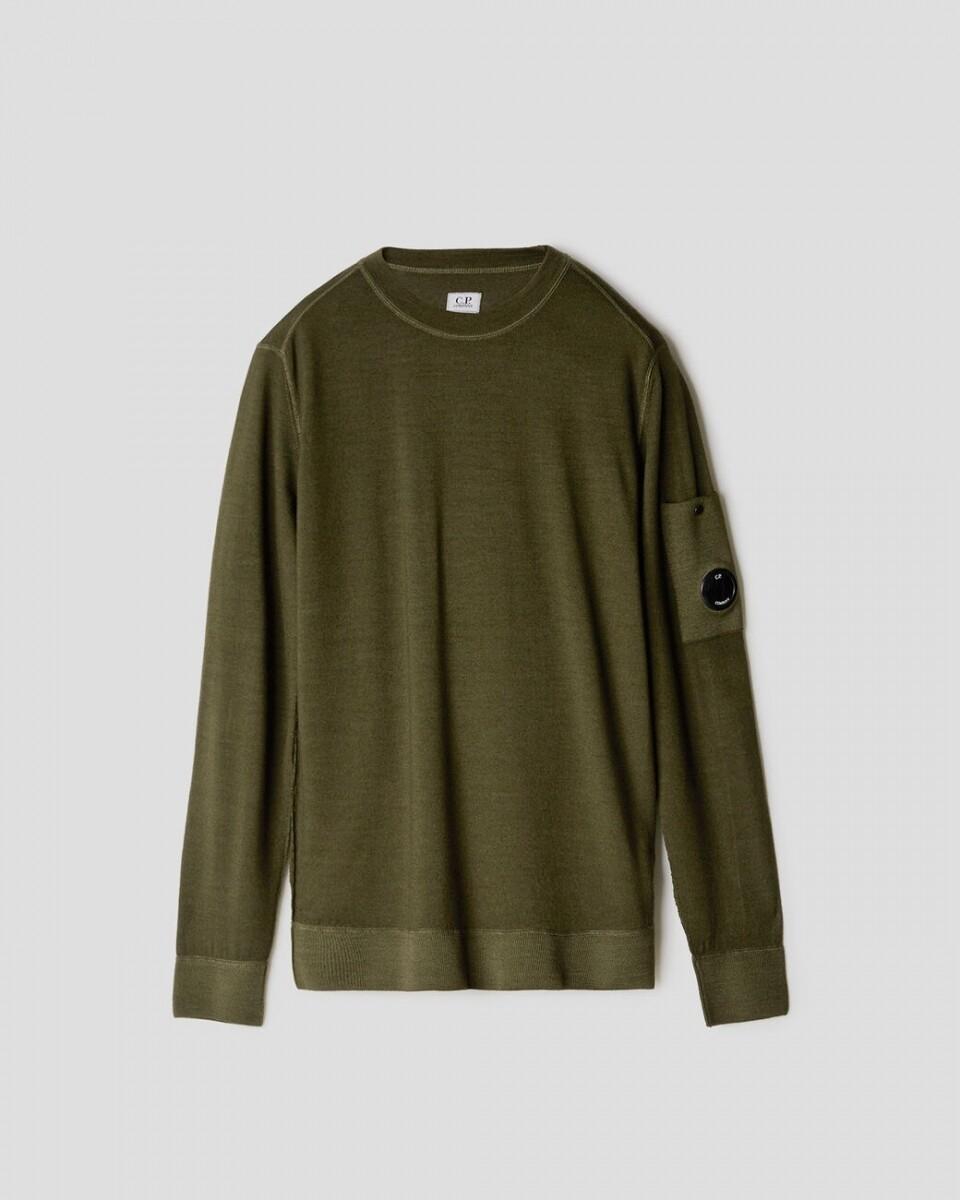 Cp Company | Pullover | 09CMKN225A 003247F groen