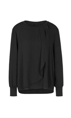 Marccain | Blouseshirt | PS 55.25 W42 zwart
