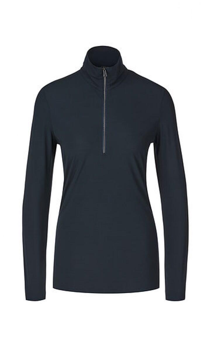 Marccain | T-shirt | PS 48.01 J05 d.blauw