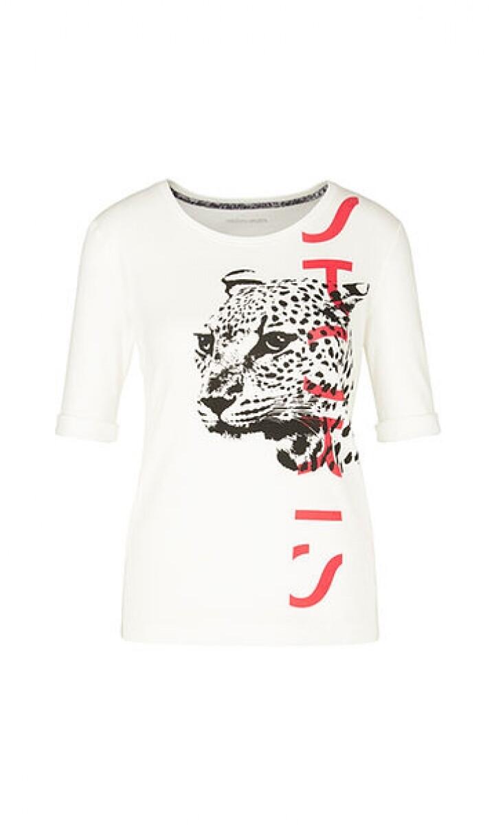 Marccain | T-Shirt | PS 48.28 J42 wit