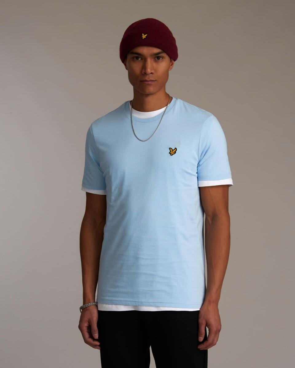 Lyle and Scott   T-Shirt   TS400V l.blauw