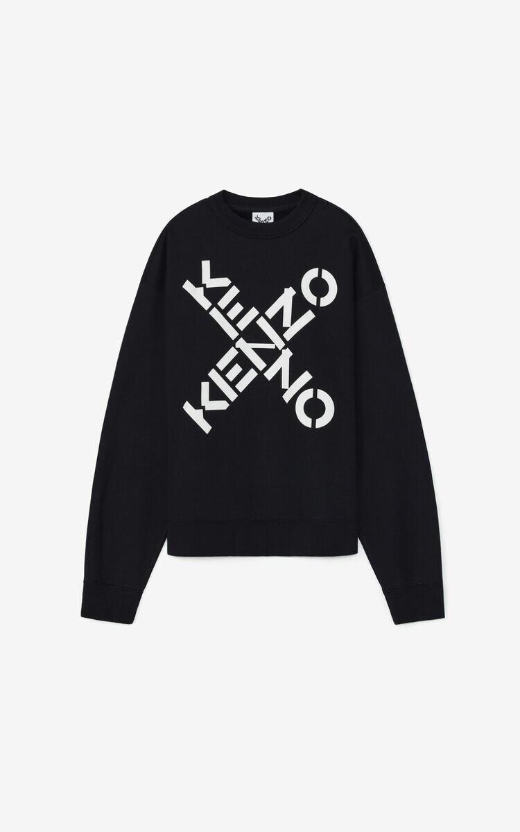 Kenzo | Sweater | FA65SW5214MS zwart