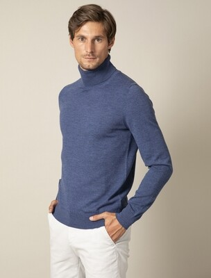 Cavallaro    Roll Neck   118205002   l.blauw