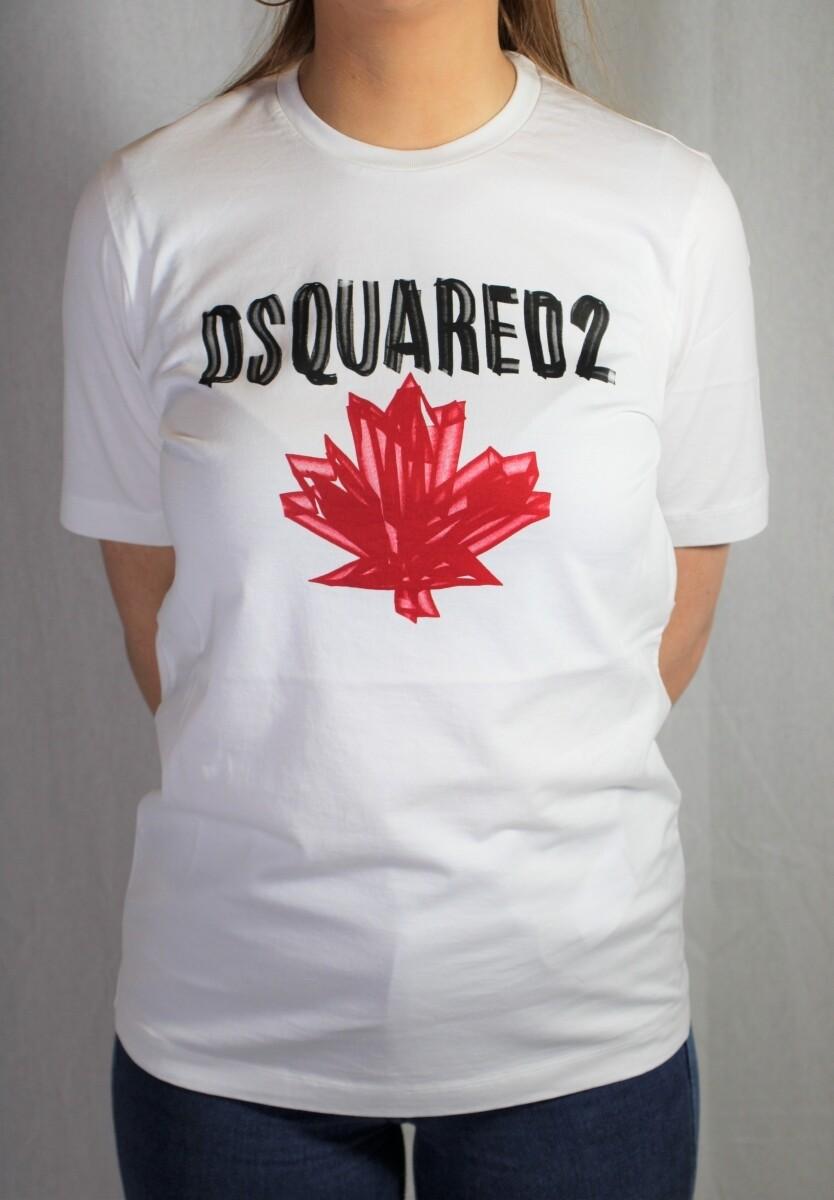Dsquared2 | T-shirt | S75GD0156 S22844 wit