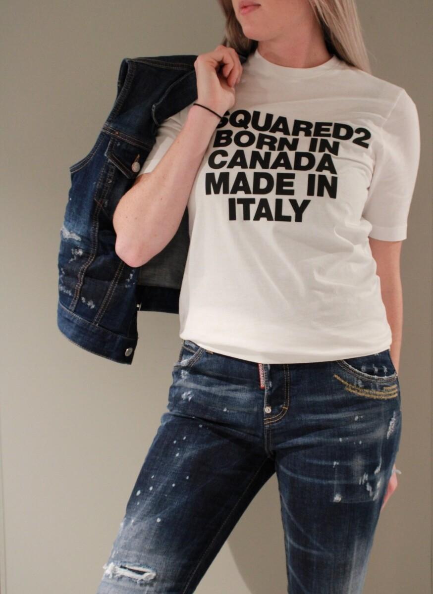 Dsquared2   T-shirt   S75GD0023S22427 wit