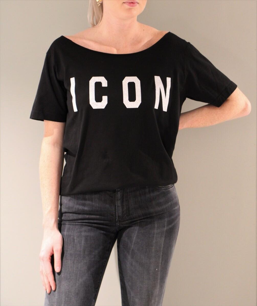 Dsquared2 | T-shirt | S80GC0011 S23009 zwart
