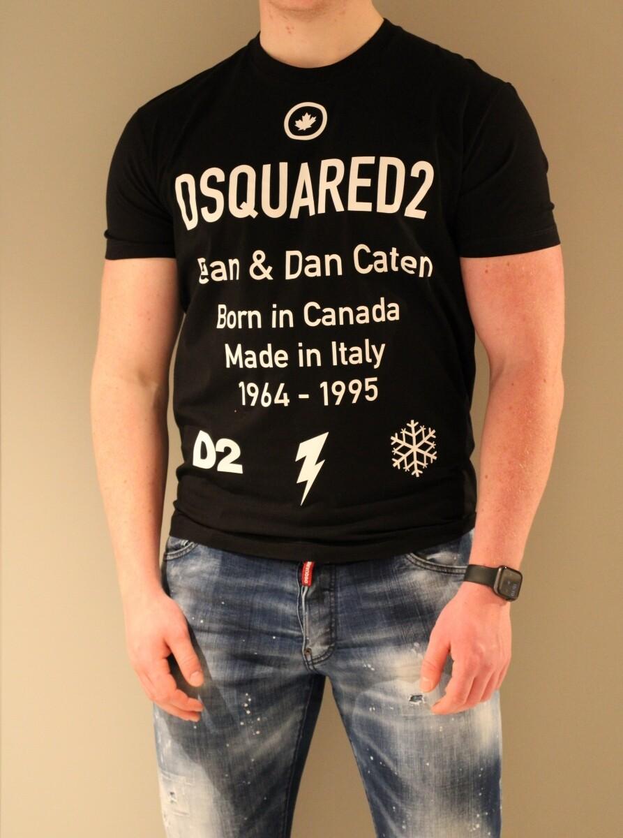 Dsquared2 | T-shirt | S74GD0746 S23009 zwart