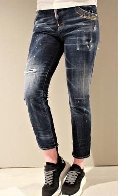 Dsquared2   Jeans   S72LB0358 S30664 blauw