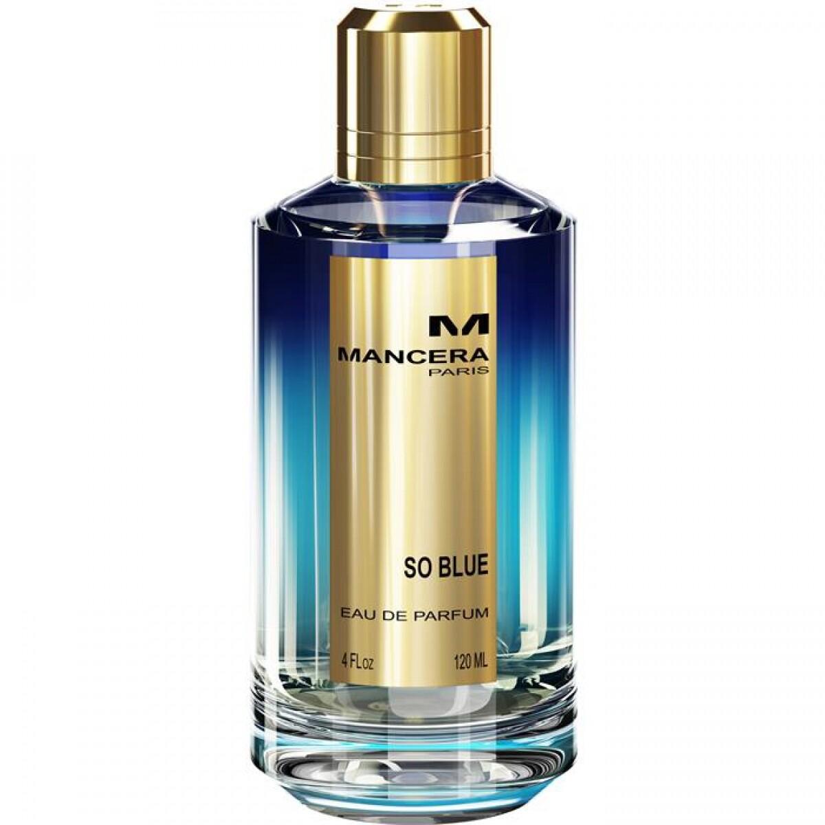 Mancera | So Blue 120ml | Parfum | 1260 diversen