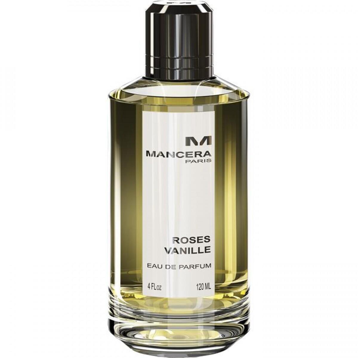 Mancera | Roses Vanilla 120ml | Parfum | 1228 diversen