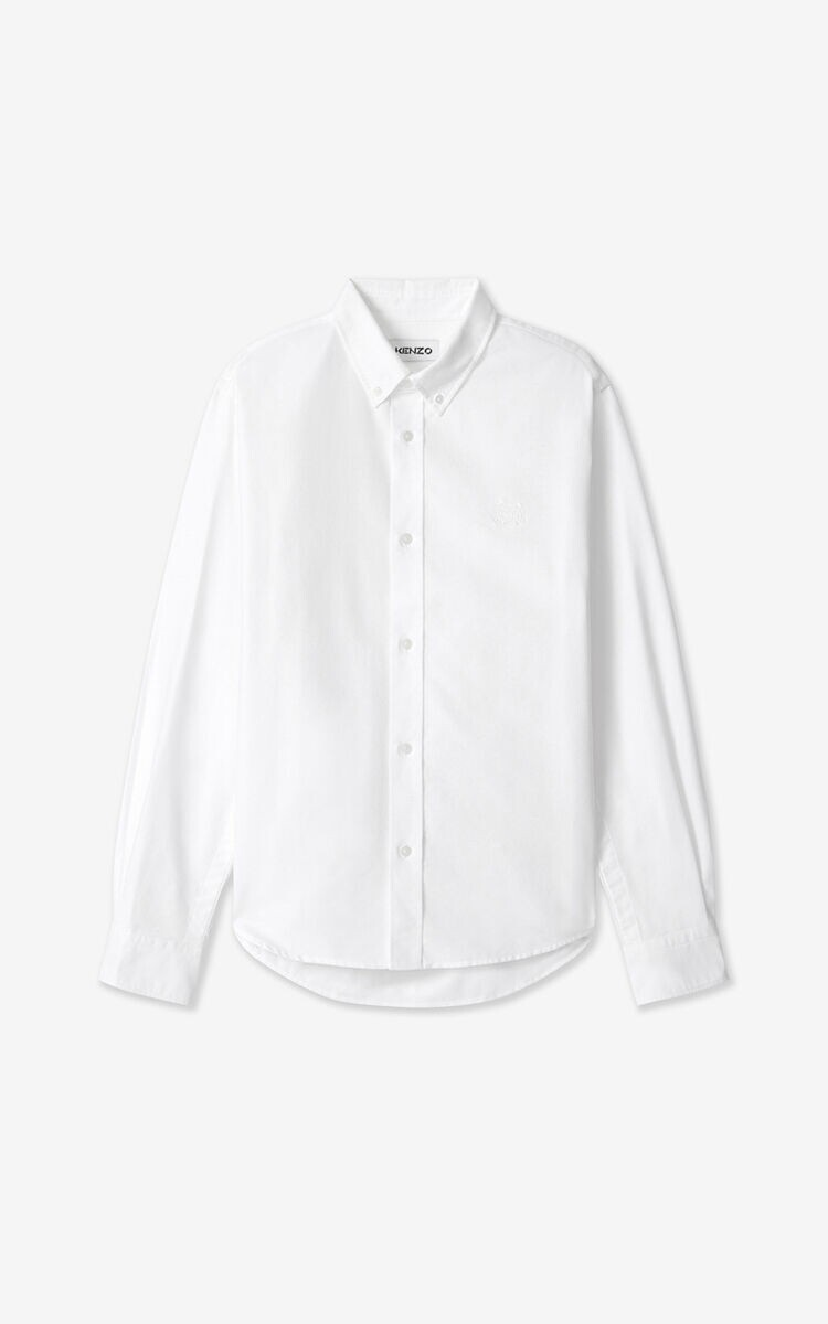 KENZO   Shirt   FB55CH4001LD   wit
