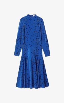 Kenzo   Jurk   FB52RO035521 blauw