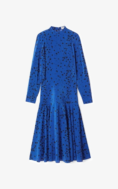 KENZO | Jurk | FB52RO035521 blauw