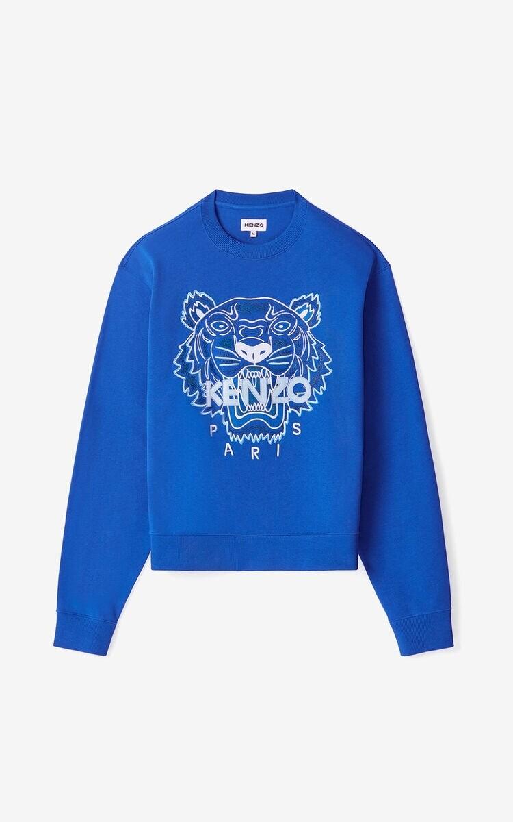 KENZO | Sweater | FB55SW1104XA blauw