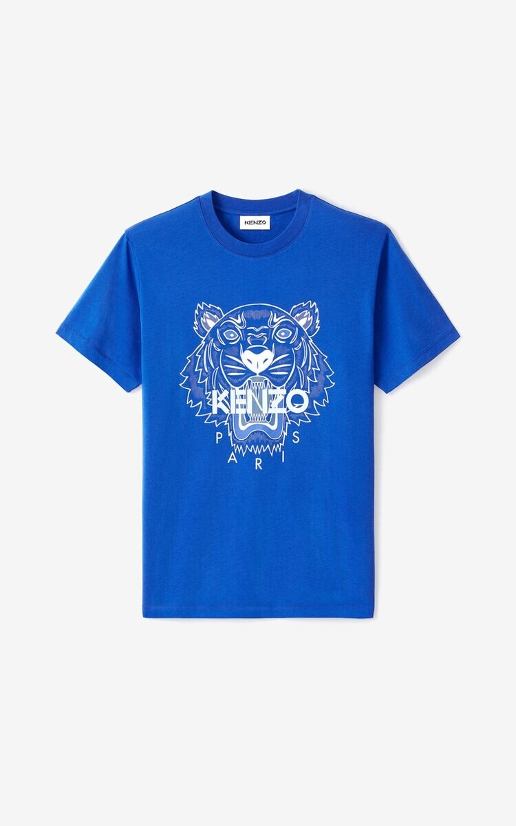 KENZO | T-shirt | FB55TS0204YA blauw
