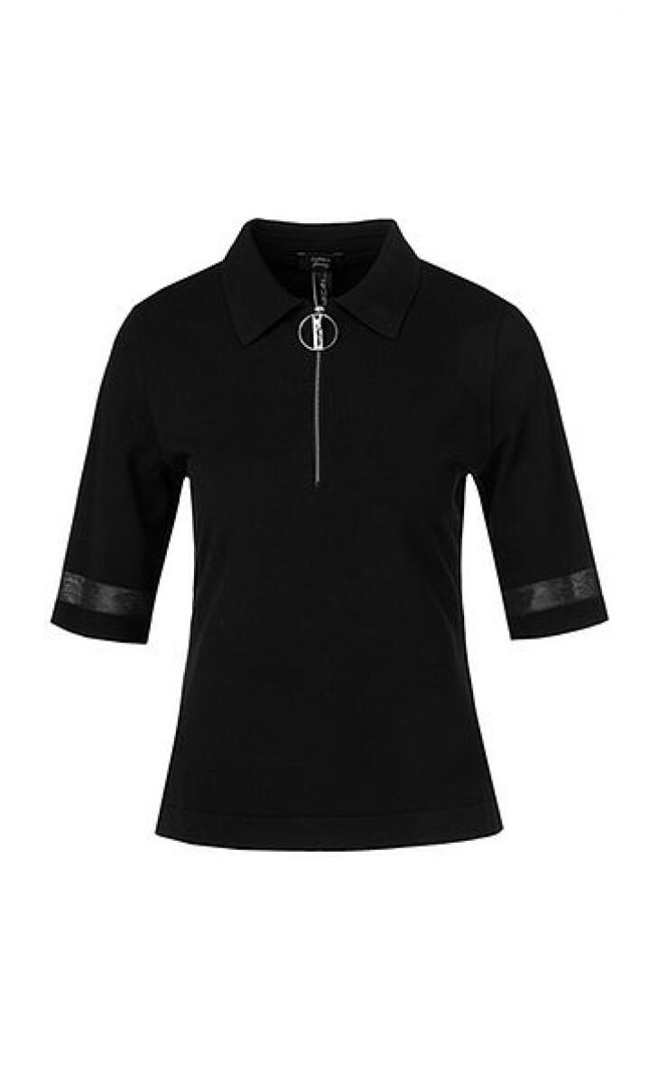 Marccain | Poloshirt | QS 53.01 M06 zwart