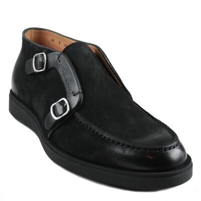 Santoni | Schoenen | Heren | MGDT17104NEREC | zwart