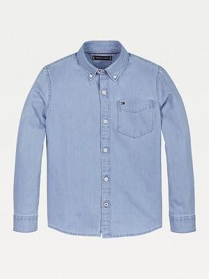 Tommy Hilfiger Kids | Shirt | KB0KB05822Z20 l.blauw