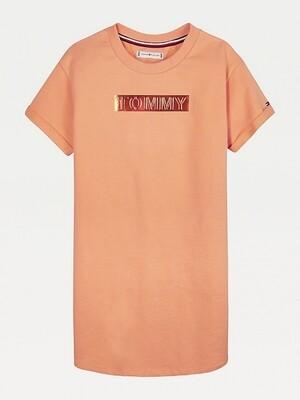 Tommy Hilfiger Kids | T-Shirt Jurk | KG0KG05097 oranje
