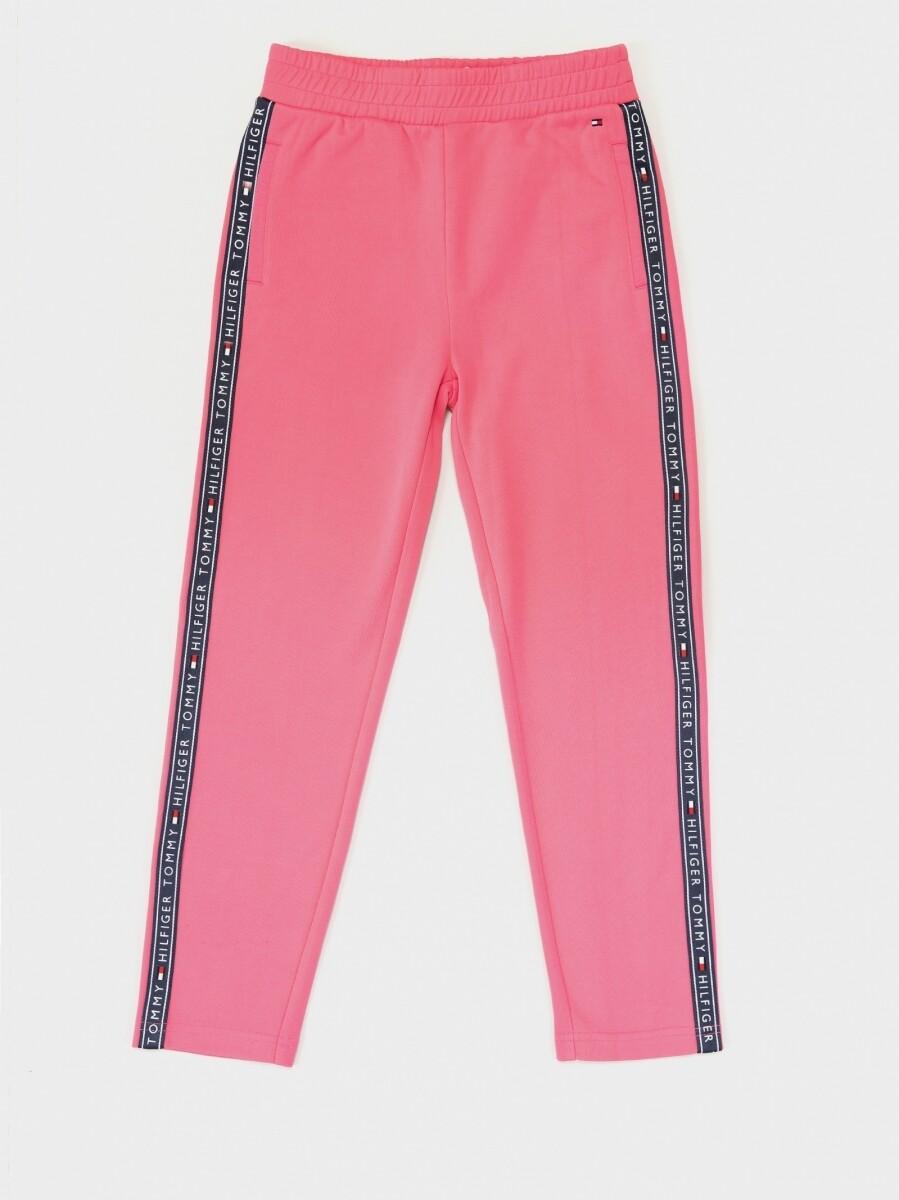 Tommy Hilfiger Kids   Broek   KG0KG05190 pink