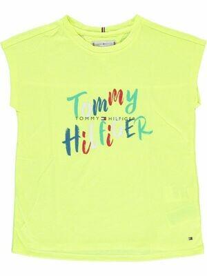 Tommy Hilfiger Kids | T-shirt KG0KG05033 geel