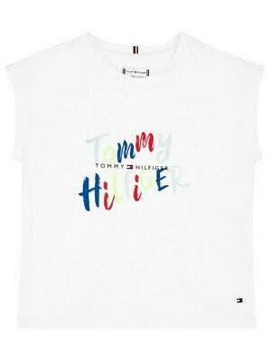 Tommy Hilfiger Kids | T-shirt | KG0KG05033 wit