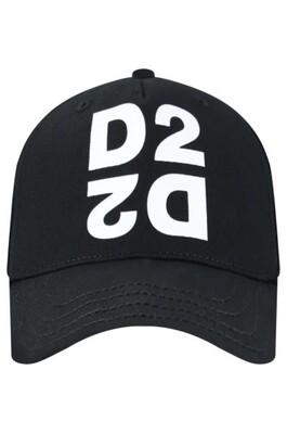 DSQUARED2 | CAP | DQ03XE D00I8 zwart