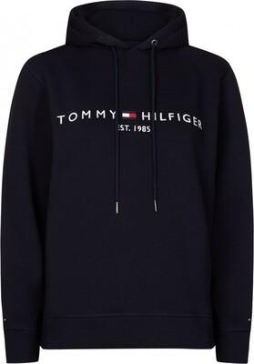 Tommy Hilfiger   Hoody   WW0WW26410 d.blauw