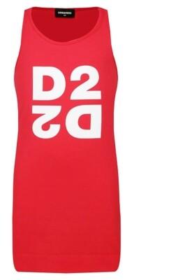 Dsquared2 Kids | T-Shirt Jurk | DQ03WJ D00XM rood