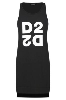 Dsquared2 Kids | T-Shirt Jurk | DQ03WJ D00XM zwart