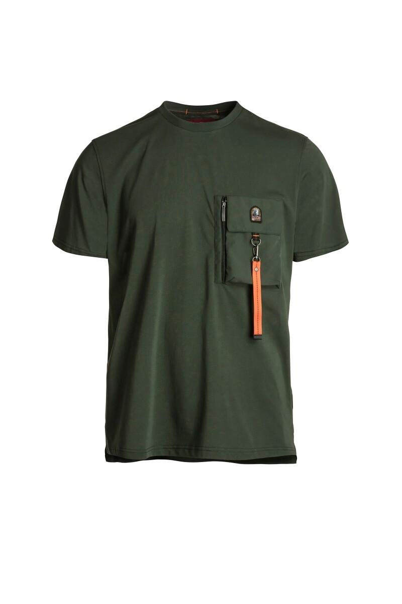 Parajumpers | T-shirt | PMFLETS28 groen