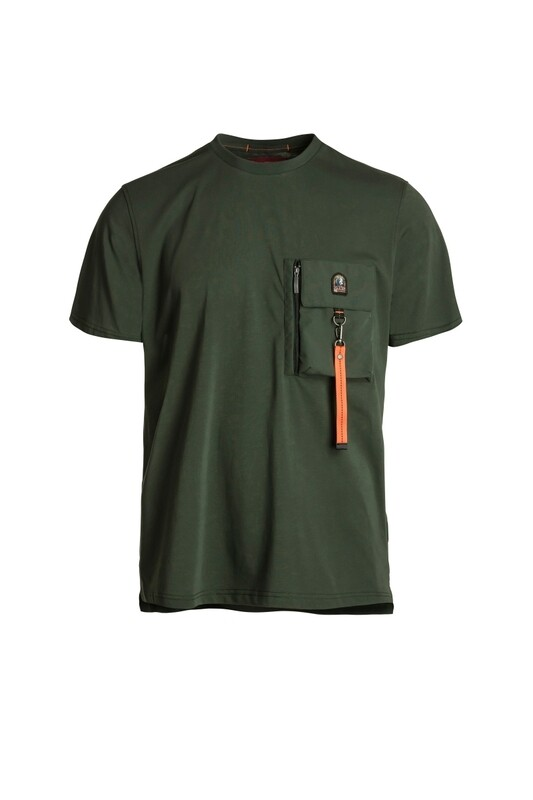 Parajumpers | T-shirt | PMFLETS28 groen