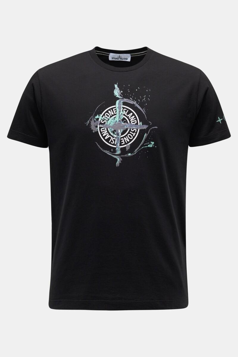 Stone Island   T-shirt   MO74152NS83   zwart