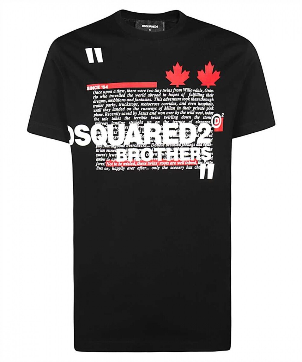DSQUARED2 | T-shirt | S74GD0811 S22427 zwart