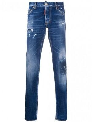 DSQUARED2   Skinny Jeans   S71LB0724S30663 blauw
