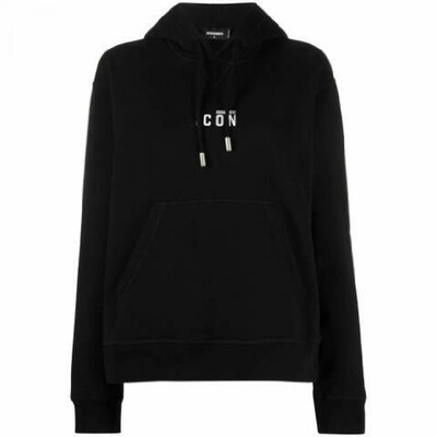 DSQUARED2   hoodie   S80GU0020 S25042 zwart