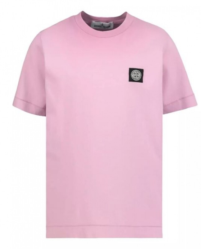 Stone Island Kids | T-Shirt | MO741620147 roze