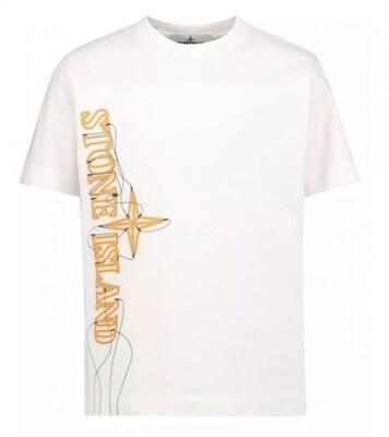 Stone Island Kids | T-Shirt | MO741621059 wit
