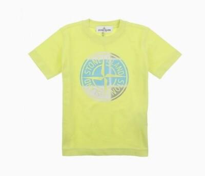 Stone Island Kids | T-Shirt | MO741621052 geel