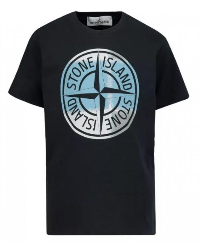 Stone Island Kids | T-Shirt | MO741621052 zwart
